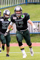 AUT, AFL, Danube Dragons vs Prague Black Panthers