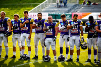 AUT, AFL, AFC Vienna Vikings vs Prague Black Panthers
